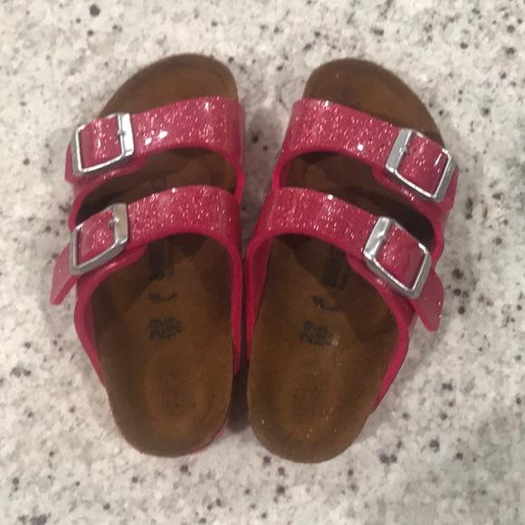 Birkenstock Shoes   Pink Glitter